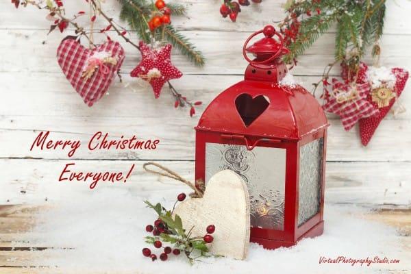 Sample of Christmas Post Card